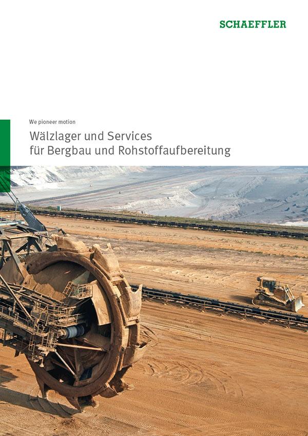 Wälzlager und Services für Bergbau und Rohstoffaufbereitung