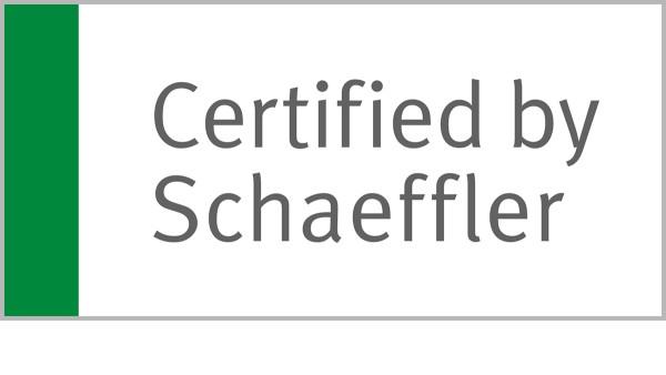 'Certified by Schaeffler' remplace le statut de 'Authorized Distributor Industrial' utilisé jusqu'ici et est la distinction honorifique décernée à la majorité de nos partenaires qui répondent déjà à ces exigences élevées.