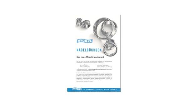 Fertigung und Vertrieb der HYDREL-Nadelbüchsen