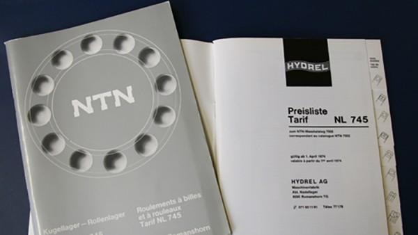 Commencement de la distribution des paliers à billes NTN