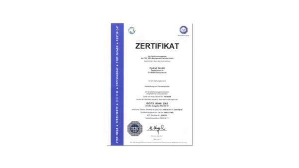 Système de gestion de qualité certifié selon ISO/TS 16949