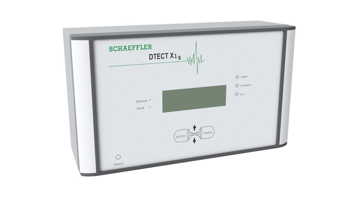 DTECT X1 s ist ein flexibles Online-System zur Überwachung von rotierenden Bauteilen und Elementen in der Maschinen- und Anlagenindustrie.