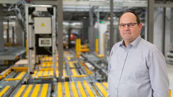 Egon Grief, Instandhaltungsleiter EDZ-Mitte bei Schaeffler